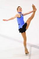 Dramatic Figure Skater