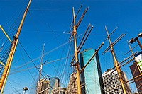 Masts and buildings