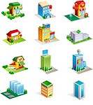 Different types of commercial buildings