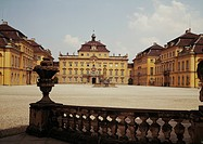 geography/travel, Germany, Baden-Württemberg, Ludwigsburg, Palace, built 1704 - 1733 by Johann Friedrich Nette and Donato Giuseppe Frisoni, exterior v...