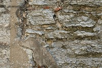 Close-up of a rugged wall