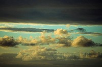 Cloudscape in the sky, Mawi, Hawaii Islands, USA