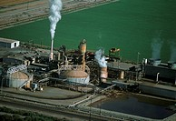 Geothermal power plant, Calipatria, California (thumbnail)