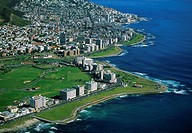 Mouille Point and Green Point in Capetown, South Africa
