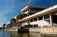 Building at the waterfront, Convention Center, Tampa, Florida, USA