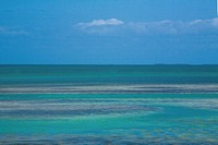 Panoramic view of the sea, Florida Keys, Florida, USA