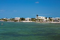 Tourist resort at the waterfront, Florida Keys, Florida, USA