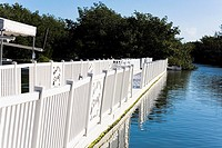 Bridge over a river, Florida Keys, Florida, USA