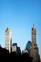 Skyscrapers in a city, Empire State Building, Manhattan, New York City, New York State, USA
