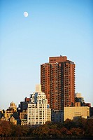 Skyscrapers in a city, New York City, New York State, USA