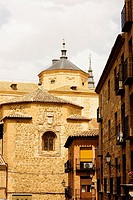 Low angle view of a church, Toledo, Spain