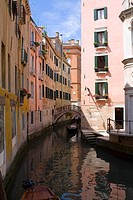 Buildings along a canal, Venice, Italy (thumbnail)