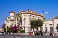 Building at the roadside, Nice, France