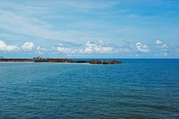 Panoramic view of the sea, San Andres, Providencia y Santa Catalina, San Andres y Providencia Department, Colombia