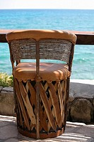 Close-up of a chair, Cancun, Mexico