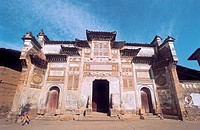 Zous Ancestral Hall in ancient Xiamei Village, Wuyishan City, Fujian Province, People's Republic of China, FOR EDITORIAL USE ONLY