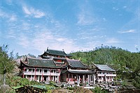 Guoxingchan temple, Taimu Mountain, Fuding County, Fujian Province of People´s Republic of China, FOR EDITORIAL USE ONLY