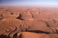 Sossusvlei sand dunes, Namib desert. Namibia