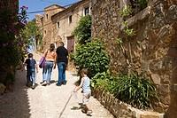 Tossa de Mar. Costa Brava, La Selva, Girona province, Catalonia, Spain