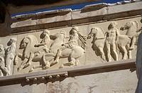 Greece, Athens, Acropolis, detail of frieze on Parthenon