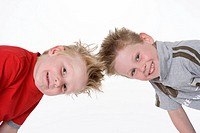 Portrait of two boys (thumbnail)