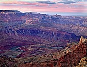Grand Canyon sunset from South Rim Arizona