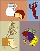 The Four Food Groups (thumbnail)