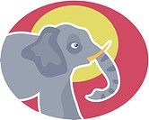 Illustration of an elephant (thumbnail)