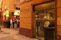 Tabern of Dona Casta, El Tubo quarter. Zaragoza, Aragon. Spain.