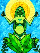 A graphical representation of mother earth (thumbnail)