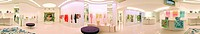 Italy, Europe, Milan, Prada, boutique, Emilio Pucci, fashion, showroom, panorama, design, modern, architecture, furnit