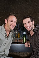 Two men in a bar (thumbnail)