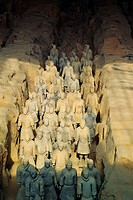 Terracotta Warriors, Xian, Shaanxi province, China