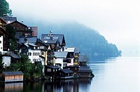 Hallstatt, Hallstatter See, Salzkammergut, Austria, Europe