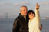 senior asian couple enjoying their time together