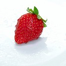 Fresh strawberry, close-up