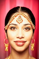 Close up of Indian woman smiling (thumbnail)