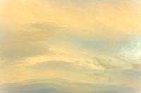 Bright Clouds at Sunrise
