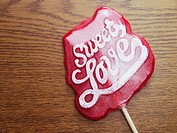 Whimsical lollipop
