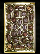 Variety of chocolates