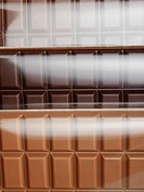 Variety of chocolate bars