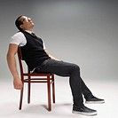 Man sitting on a chair (thumbnail)