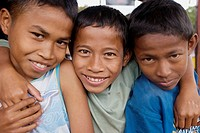 boys in Soe, West Timor, Indonesia.