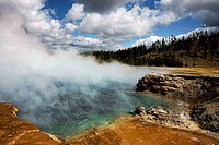 Geyser Basin, Yellowstone National Park, Wyoming, USA