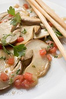 Marinated ceps