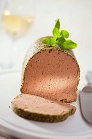 Liver pâté with herbs
