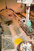 07/22/2000 ___ In Orbiter Processing Facility bay 3, STS_106 Mission Specialists Yuri I. Malenchenko left and Edward T. Lu beside him familiarize them...