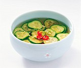 Cold Cucumber Soup,Korean Food