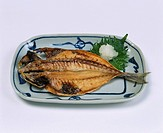 Roast fish Fish Dried Horse mackerel Japan Japanese Cuisine