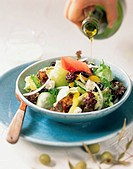 Vegetable Salad With Tofu
